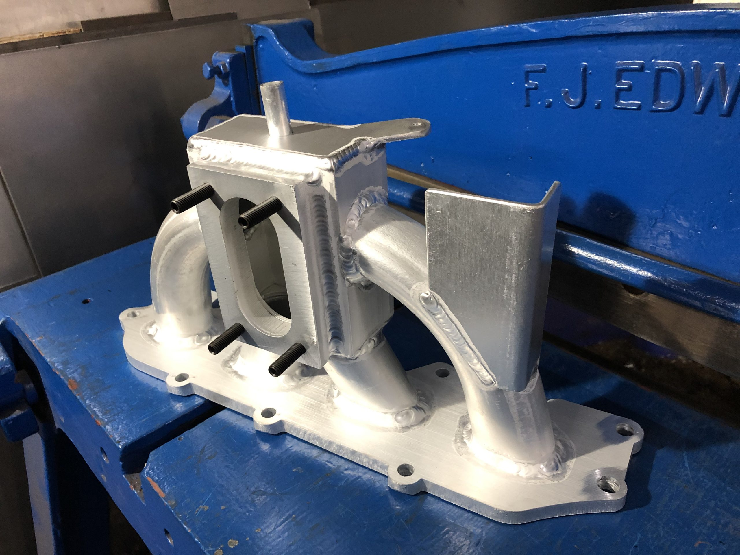 Zetec Inlet Manifold Flange Aluminum