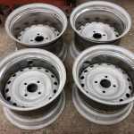 ushher engineering banded steel wheels