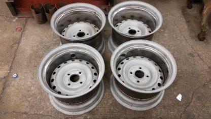 ushher engineering banded steel wheels